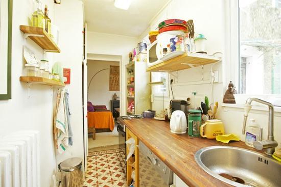 Chez Godo : shared kitchen