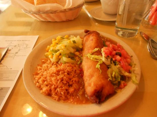 Rancho de Chimayo Restaurante: Food
