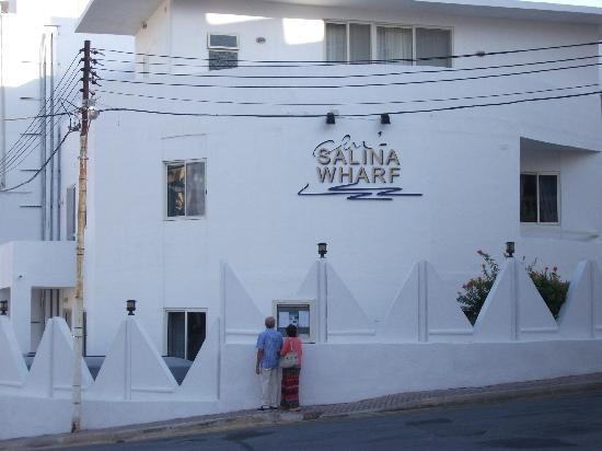 Club Salina Wharf: Whole of 1st floor in view was our suite.