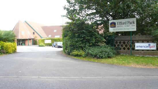 Ufford Park Woodbridge Hotel, Golf & Spa: Entrance