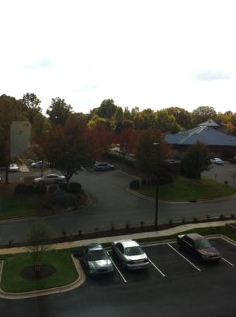 Home2 Suites by Hilton Charlotte I-77 South: from my room on the third floor