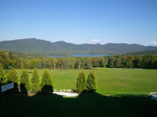 The Mountain Top Inn & Resort: vue depuis la fenêtre de la chambre