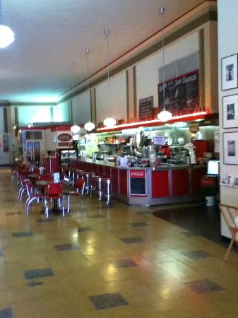 Woolworth Walk: Woolworth Lunch Counter - Asheville