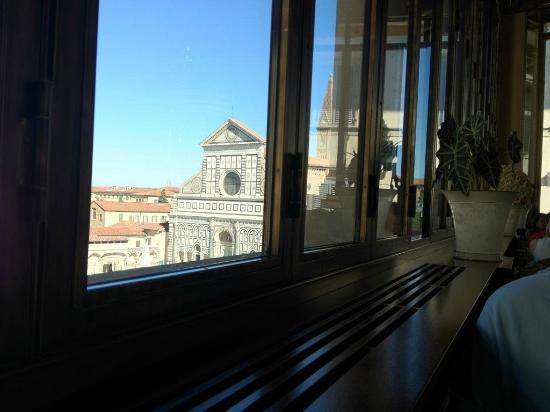 Hotel L'Orologio: vista desde el comedor
