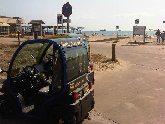 Happy drive: en la playa del saler