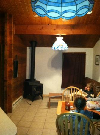 Quileute Oceanside Resort : Main area of cabin #33
