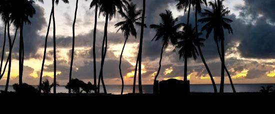 Mzima House sunset