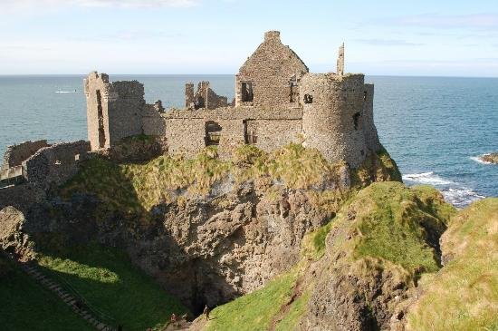 Dunluce Castle: Tower