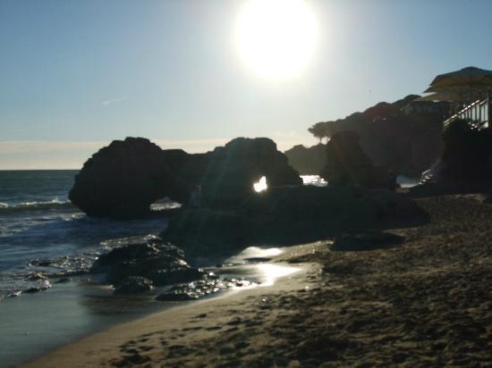 Praia dos Olhos de Água: as the sun went down