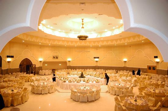Hotel Menzeh Dalia : Salle des fêtes