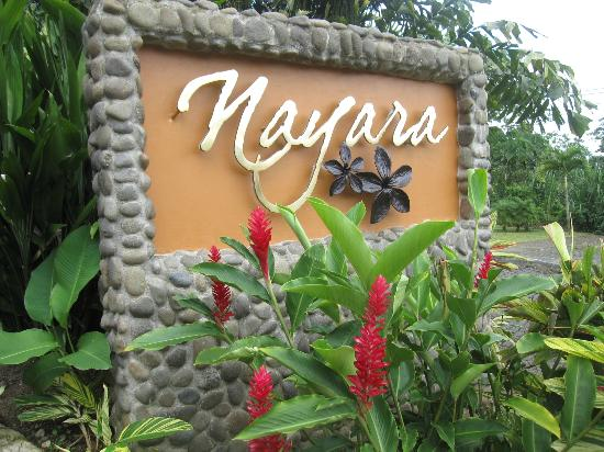 Nayara Resort Spa & Gardens: the entrance to heaven