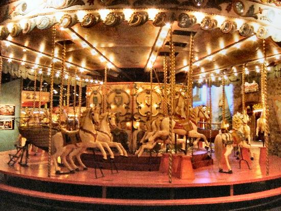 Musee des Arts Forains: Horse Carrousel