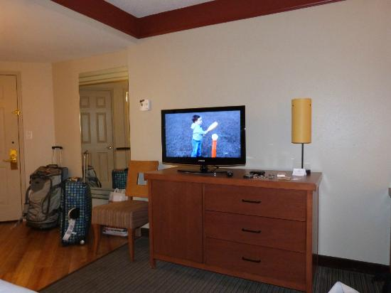 La Quinta Inn & Suites New Orleans Downtown: Flat screen tv