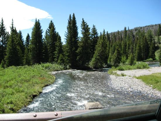 T Cross Ranch: The river on the T-Cross