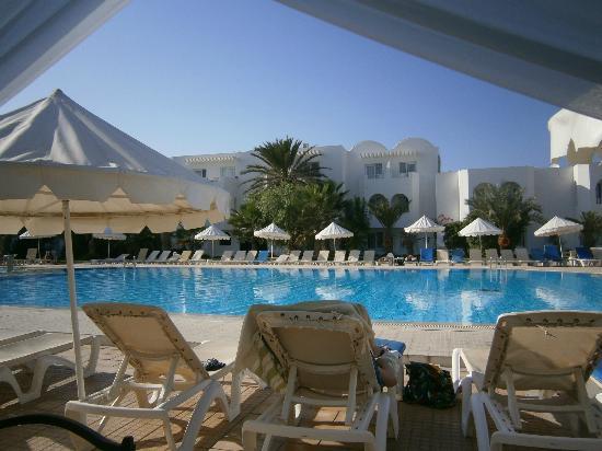 Hotel Djerba Les Dunes: terrasse