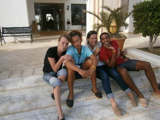 Hotel Djerba Les Dunes: départ sniff