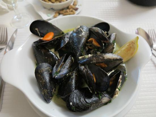 Miravau Restaurante: mussels