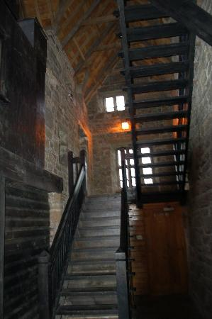 Donegal Castle: Looking up