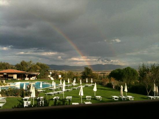 Hotel Adler Thermae Spa & Relax Resort: after the rain