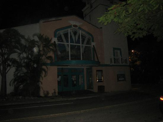 The Original Ghost Tour : Theater where kids died. Notice the orbs in the pic