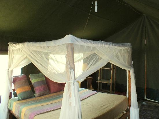 Ol Mesera Tented Camp: Bed with nets.