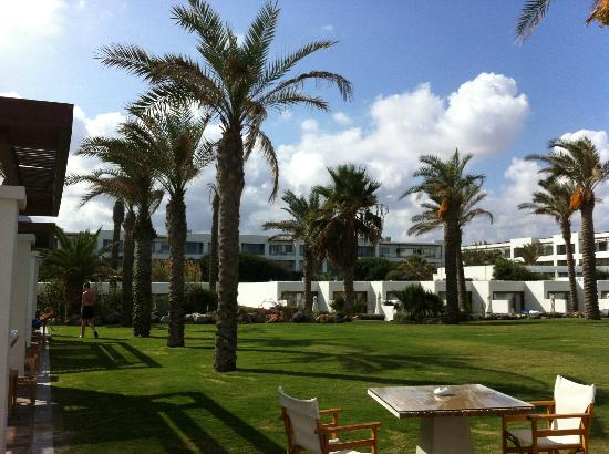 Amirandes, Grecotel Exclusive Resort: Amirandes beautifully-maintained gardens.
