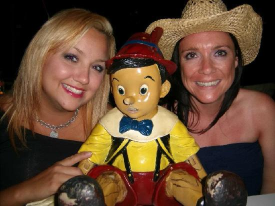 Pinocchio Restaurante Pizzeria: he allways tell you the truth