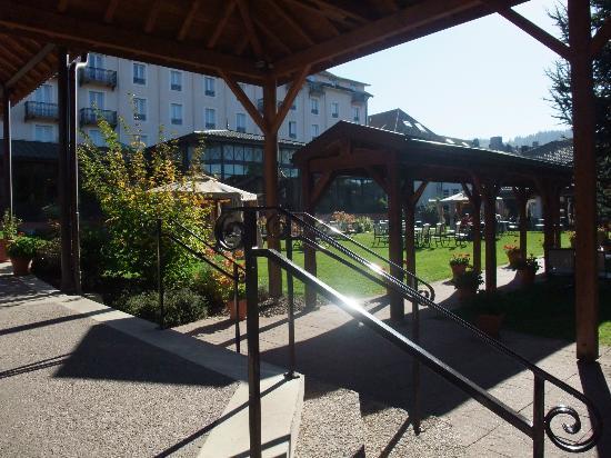Grand Hotel & SPA de Gerardmer: Jardin