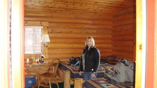 Teton Valley Cabins: Cozy and warm.