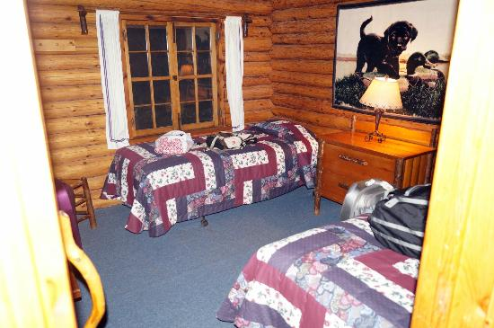 Bearskin Lodge: 2nd bedroom cabin 5