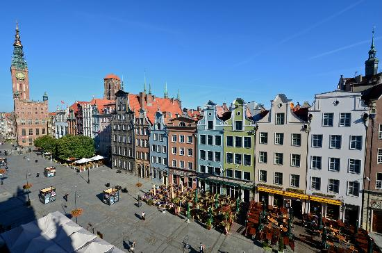 Radisson Blu Hotel Gdansk: View from the rooms on the facade.