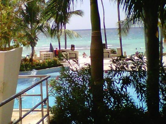 Viva Wyndham Dominicus Beach: Picina y playa