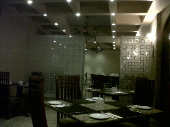Hotel Celta : The restaurant, terrible food