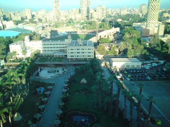 Novotel Cairo El Borg: view on the tower & Garden