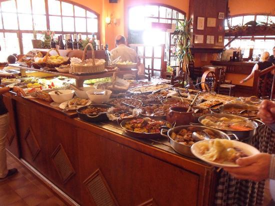El Tiberi bufet gastronomía tradicional catalana: Catalan buffet