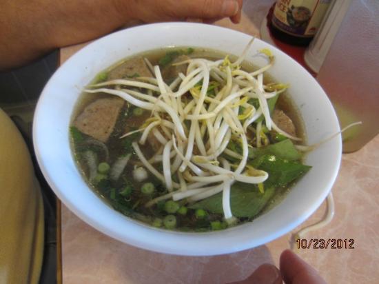 Tu Hai Restaurant: Typical meal