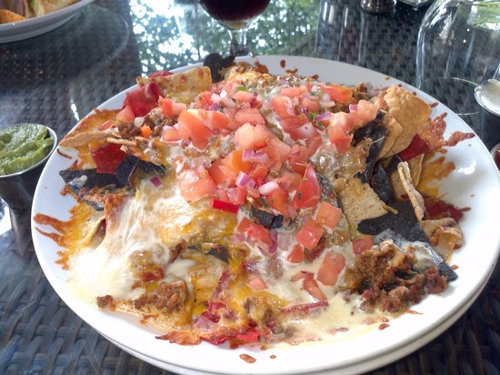 Doubletree by Hilton Orlando at SeaWorld:                   Nachos from hotel restaurant. Huge portion