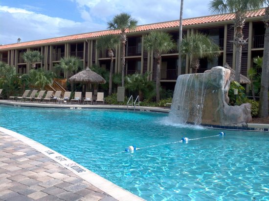 Doubletree by Hilton Orlando at SeaWorld:                   Hotel main pool