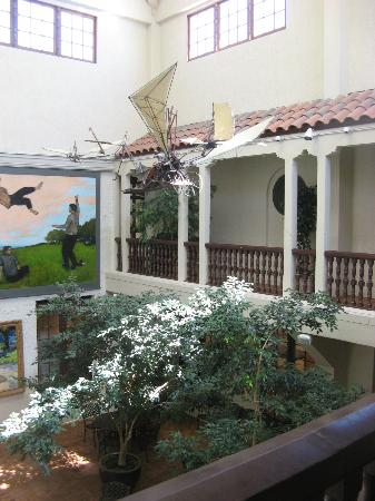 Springville Museum of Art: interior courtyard
