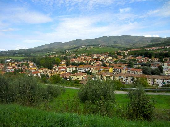 Tuscan Wine Tours with Angie: Tuscan hillside