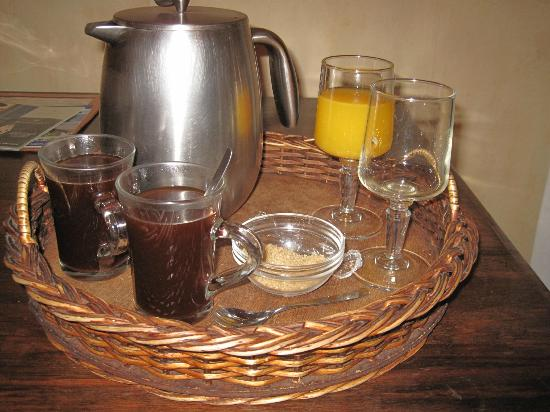 "Hotel Boutique ""El Consulado"": great coffee and orange juice in the mornings"