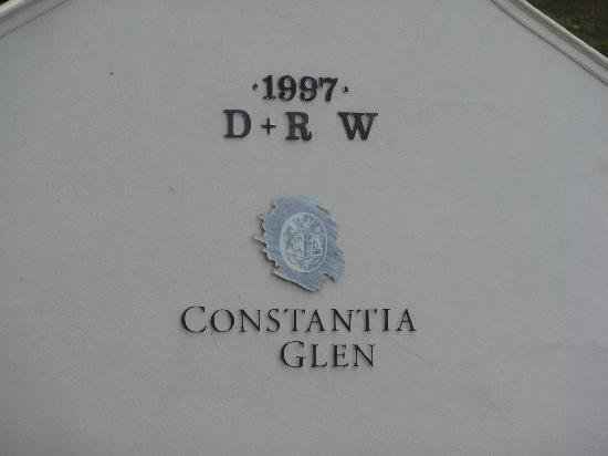 Constantia Glen Winery since 1997
