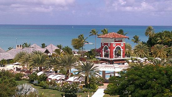 Sandals Grande Antigua Resort & Spa: view from our balcony