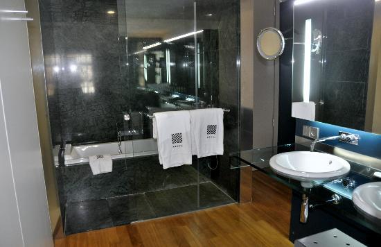 Hotel Reina Petronila: baño