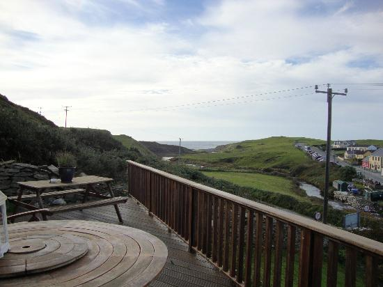 Sea View House Doolin: View from front porch