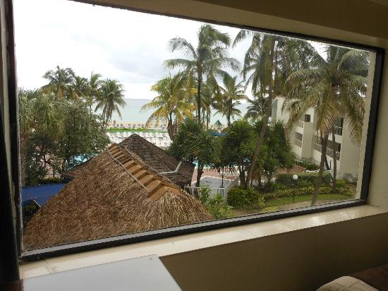 Golden Strand Ocean Villa Resort: From the bed area of the studio