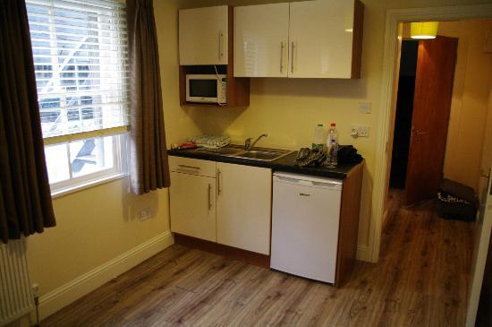 "The Dublin Central Hostel: ""kitchen"""