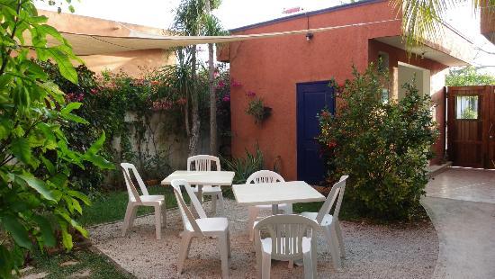 Hotel Villa Matisse: Cour intérieure