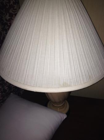 DoubleTree Suites by Hilton Hotel Nashville Airport: nasty lampshade
