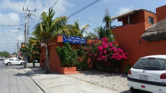 Hotel Villa Matisse: Vu de la rue